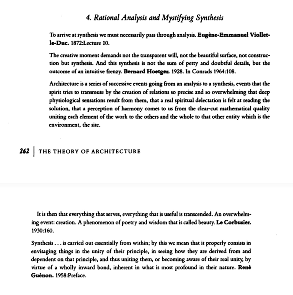analysis & synthesis