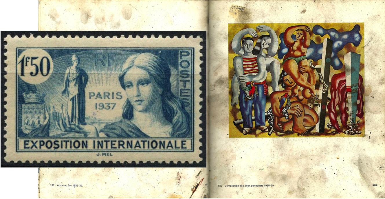 Leger   Paris Exhibition 1937