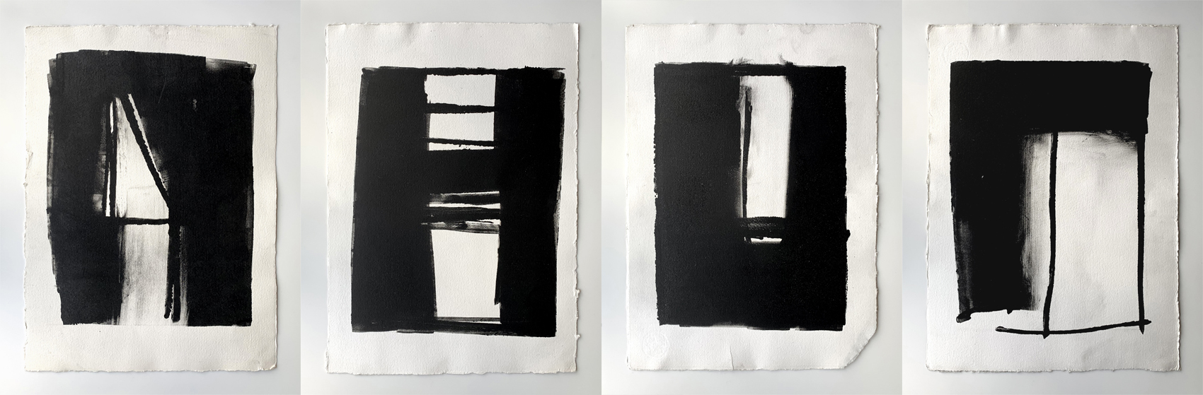4 x Prints 1990