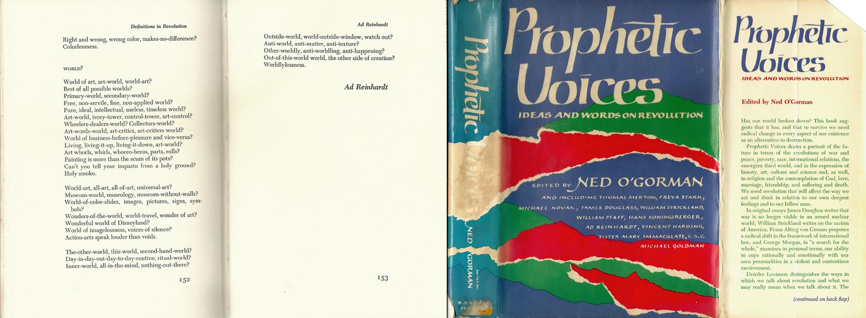 Reinhardt Prophetic Voices